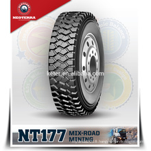 Neoterra radial truck tire Special Four-rid tread groove design makes 11R22.5 tyre