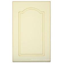 Porte de placard de cuisine de PVC (HLPVC-22)