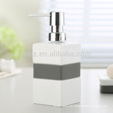 kitchen soap dispenser with plastic pump and silicone band