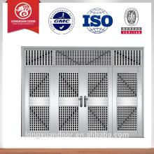 Porta de porta de aço inoxidável design porta de entrada principal porta de entrada de segurança de design