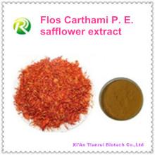 Extracto de cártamo de Flos Carthami PE 100% natural