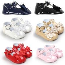 Prewalker Младенческой Новорожденных Девочек Анти-Скольжения Обуви Малыша
