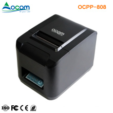 OCPP-808 High Speed Auto-cutter and USB plus Serial plus Ethernet or WiFi plus USB Ports 80mm Thermal POS Printer