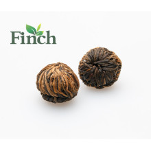 Peach Flavored Tea Chinese Fujian Blooming Flower Tea Ball Individual Vacuum Package (Rising Step By Step)