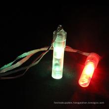 plastic professional led electronic light whistle