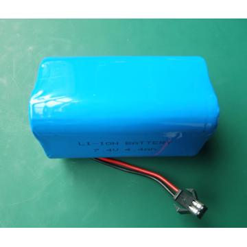 large lithium ion battery packs 7.4V