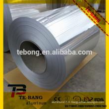 Matière douce et rouleau de matière première en aluminium