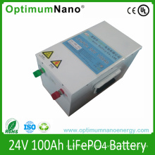 Rechargeable 24V 100ah Lithium Battery for Solar Home System