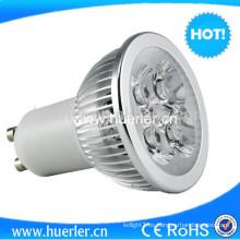 MR16 / GU10 / E27 gu10 llevó las lámparas llevadas 4w del techo llevó la luz del par