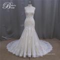 Vestidos de novia confeccionados en Champagne de alta calidad de una línea