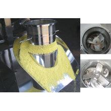 Revolving extruder granulating machine mesh extruder