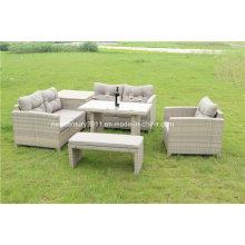 Outdoor Rattan Garden Wicker Corner Sofa