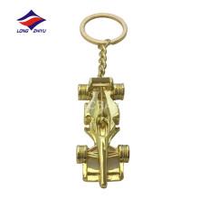 Kundenspezifisches Metallguss 3D-Drucklogo-Auto keychain
