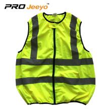 customized reflective zipper safety jackets
