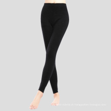 PK18ST086 100% cashmere yoga pants legging para calças de mulher