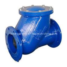 Фланцевый обратный шаровой клапан Pn16
