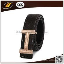 Usine directement ventes de haute qualité de mode en cuir véritable ceinture pour hommes