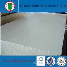 11-Ply Plywood Type and Poplar Main Material Commercial Plywood