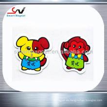 Imán promocional del refrigerador del pvc de la decoración 3d