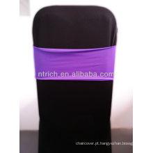 Linda faixa do Spandex, Lycra Sash, roxo