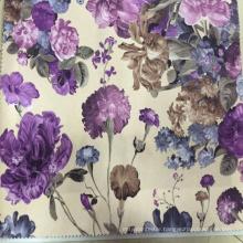 100% Polyester Cut Printed Velvet Upholstery Fabric