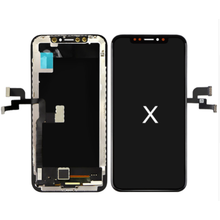 iPhone X LCD Display Screen Majelis Digitizer Penggantian