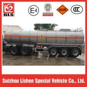Liquid ammonium nitrate transport trailer