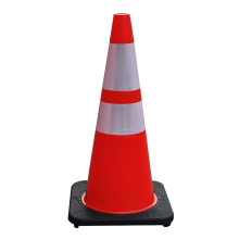 Quality for Traffic Cones,Parking Cones,Plastic Traffic Cones Manufacturers and Suppliers in China 70cm Soft Flexible PVC road safety barricade cones supply to Kenya Importers