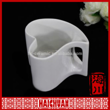 HCC contemporáneo nuevo hueso china taza en caja de regalo