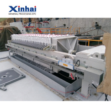 Presse-filtre automatique de membrane de Xinhai pour le groupe minier d'or Introduction