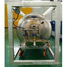 Welded Wheel-Type Cryogenic Dewar Cylinders