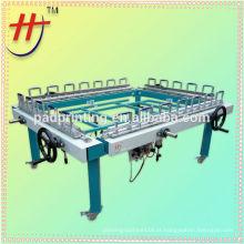 Venda quente de máquina de estiramento de malha semi automática duplo grampo à venda