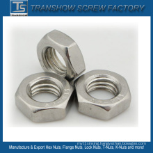 M10 Stainless Steel Left Thread Hex Nut