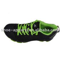 últimos zapatos para correr para hombres con suela de ciclo de aire