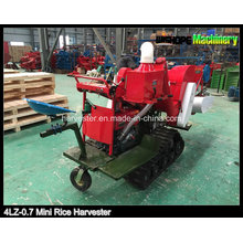 Rubber Track Mini Reis Harvester 4lz-0.7
