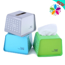European Style Creative Plastic Tissue Box (ZJH029)