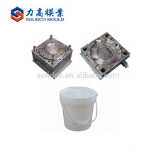 2017 Top Class Quality Plastic Bucket Stainless Mould Oval Shape Plastic Paint Bucket Mould