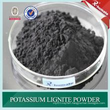 98%Min Potassium Lignite Powder for Oil Drilling Mud Additive