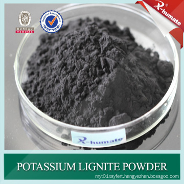 95%Min Powder Potassium Lignite for Oil Drilling Mud Additive