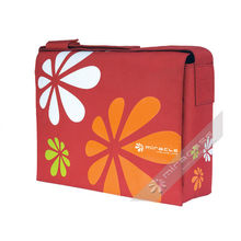 """Fashion 15.6""""  Womens Laptop Messenger Bag With Patterns Printing And 210d Polyester Inner"""