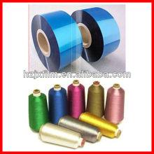 12/16/20/25 mirons VM PET / película de arco iris para hilo metálico