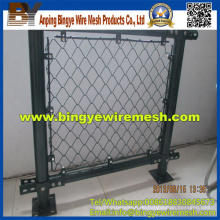 PVC Kettenglied Zaun (Diamantdrahtgeflecht)