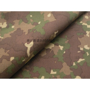 1000D Nylon Cordura Penyamaran PU Coating Fabric
