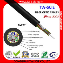 GYFTY Non-Metalic Single Mode Fiber Optic Cable