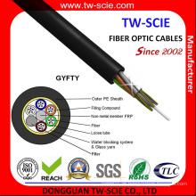 Cabo de fibra ótica do núcleo da antena de GYFTY 144