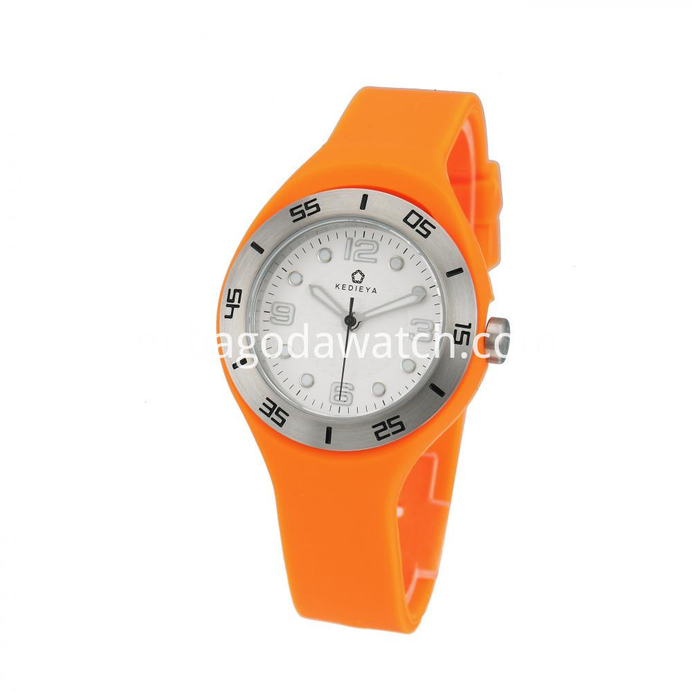 Women S Watch Silicone Strap