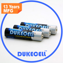 Super Alkaline AAA Battery with Aluminium Foil Jacket
