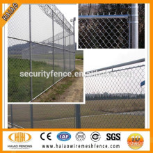 Made in Anping local factpry green chain link fence panels lowes