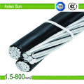Aerial Bounded Cable Triplex Service Drop-Aluminium Conductor Cable