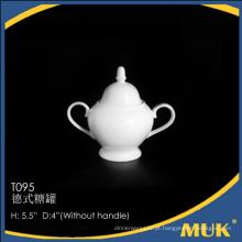 Fornecedor de china super white luxury new bone china sugar pack